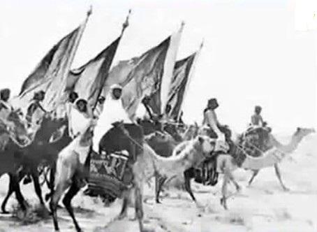 عزو الاخوان البدو الخارجين على عبدالعزيز بن سعود للكويت