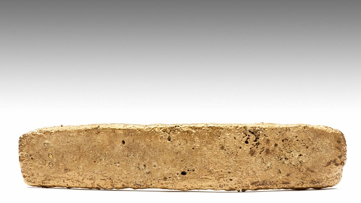 سبيكة ذهبية من حقبة الإزتيك