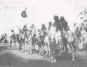 حشود كويتية تستعد للقاء ابن رشيد في حرب الصريف