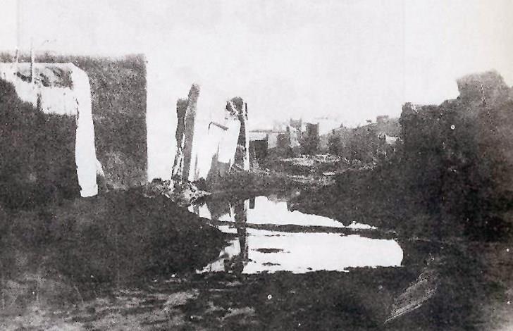 سنة الهدامة الأولى التي هدمت البيوت الطينية في مدينة الكويت