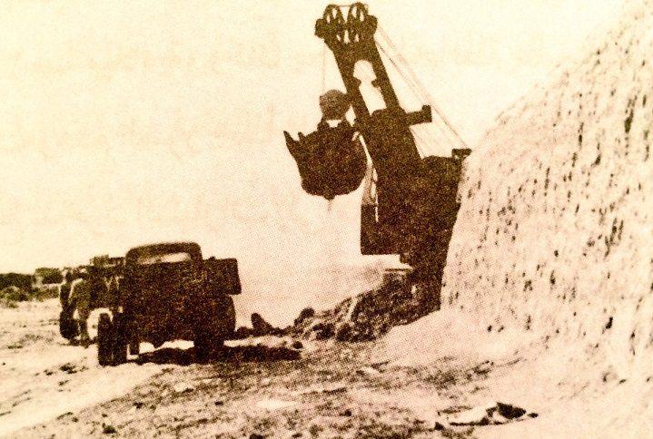 هدم سور الكويت عام 1957م