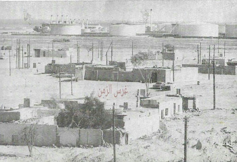 قرية الفحيحيل كما بدت في الماضي