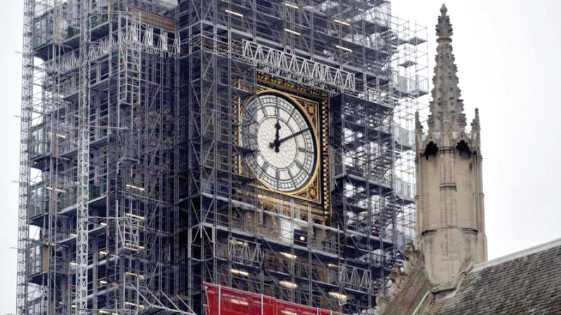 ترميم برج ساعة بنغ بن