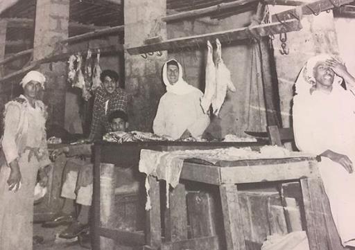 سوق اللحم في المباركية