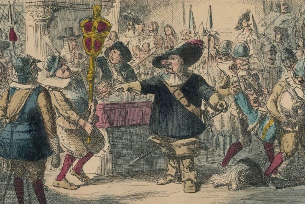 احدى جلسات مجلس العموم البريطاني في عهوده القديمة