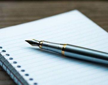 قلم ينبض بالحياة