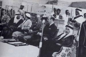 حفل افتتاح مستشفي الأميري برعاية الشيخ عبدالله السالم ( تاريخ الكويت )