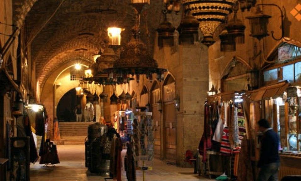 حلب القديمة واسواقها الشعبية