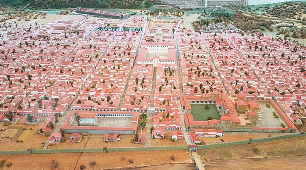 اكتشاف مدينة رومانية كاملة منذ العصور الوسطى مطمورة بالكامل