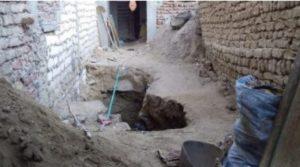 انهيار موقع آثار في مصر على المنقبين