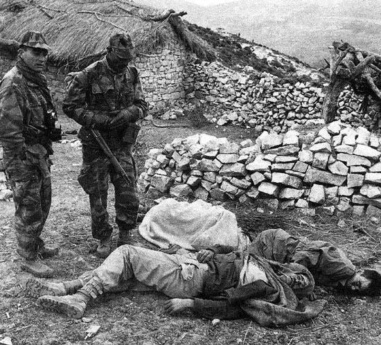 مجازر وفضائع المستعمر الفرنسي في الجزائري