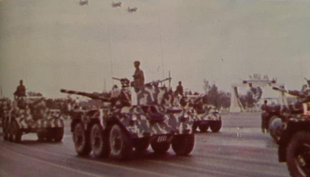 شاركت ارتال مدرعات صلاح الدين في دعم الصمود العربي في معاركه