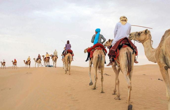 رحلات القبائل العربية عبر جزيرة العرب