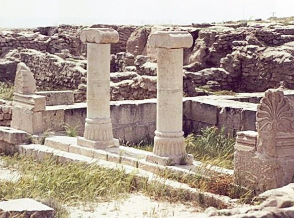 آثار رومانية في جزيرة فيلكا الكويتية