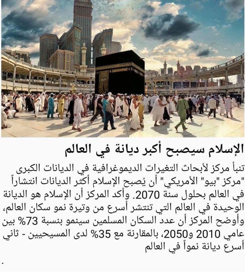 نمو سريع للإسلام عالميا