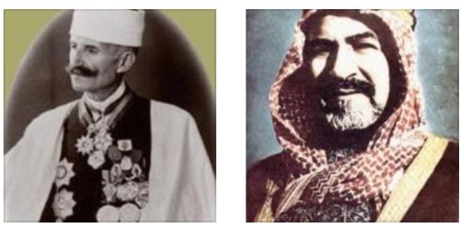 """الشيخ أحمد الجابر """"يمينا """" ونسيب مكارم"""