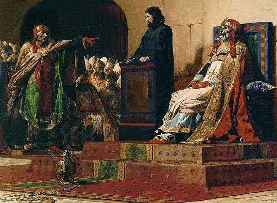 بلاط ملوك وأباطرة الغرب في القرون السالفة