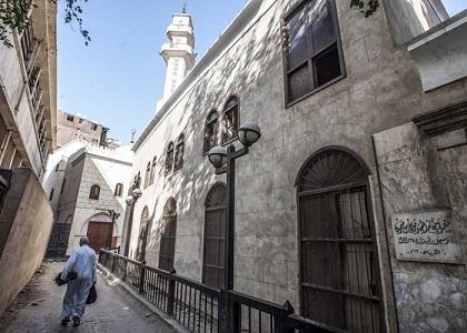 حارة اليهود في مصر وقد بدت خالية من السكان