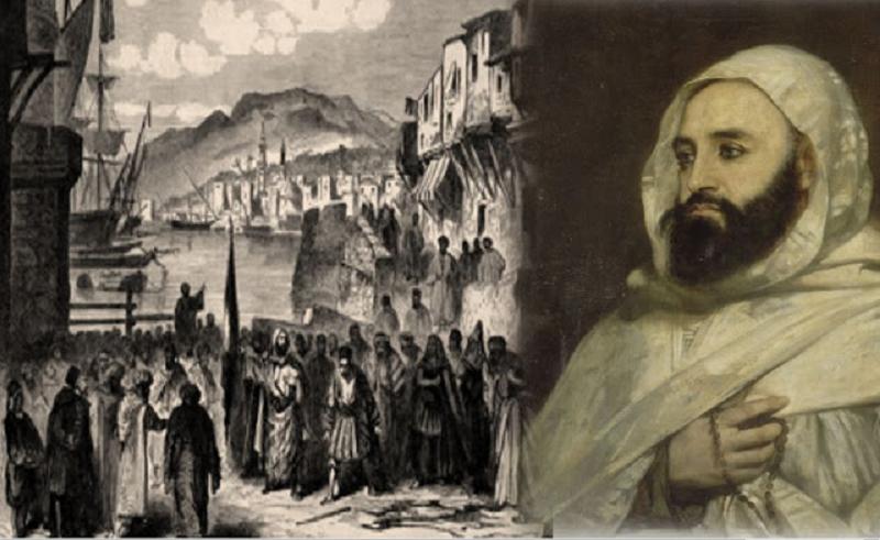 عبدالقادر الجائرى في مقدمة صفوف المجاهدين الجزائريين