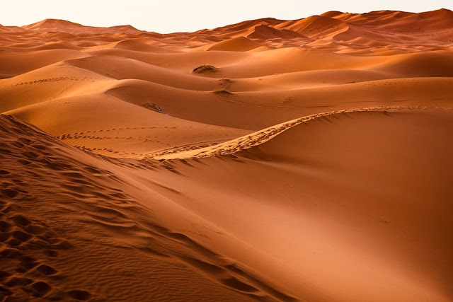صحراء ورمال متحركة