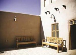 جانب من حوش بيت كويتي قديم