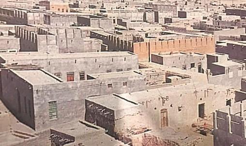 احياء وشوارع جزيرة فيلكة كما بدت قبل اخلاءها في التسعينيات