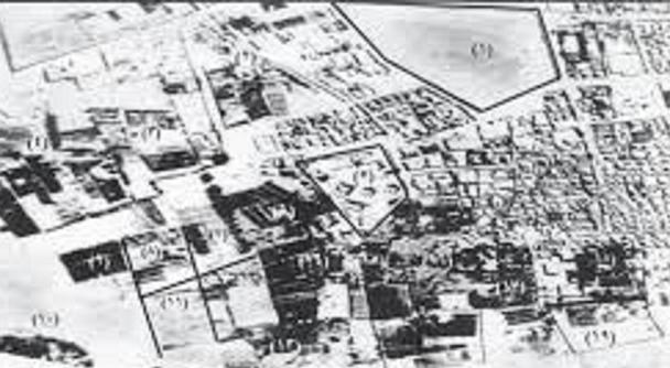 مخطط مدينة الجهراء قديما