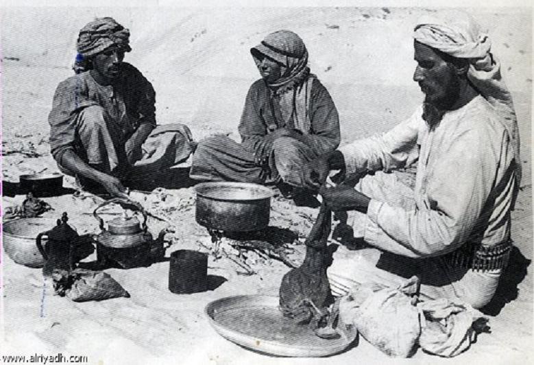 اصناف الطعام على مائدة أهل البادية والبداوة