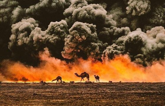 حرائق غزو العراق للكويت عام 1991