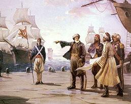 البرتغاليين ونفوذهم على سواخل الخليج العربية