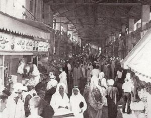 سوق بن دعيج كما بدا في الماضي