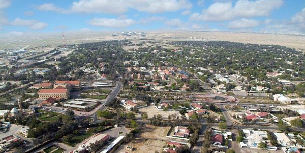لقطة جوية حديثة للتطور العمراني في منطقة الفنطاس