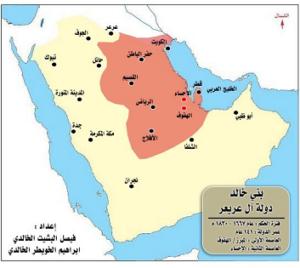 خريطة نفوذ الخوالد