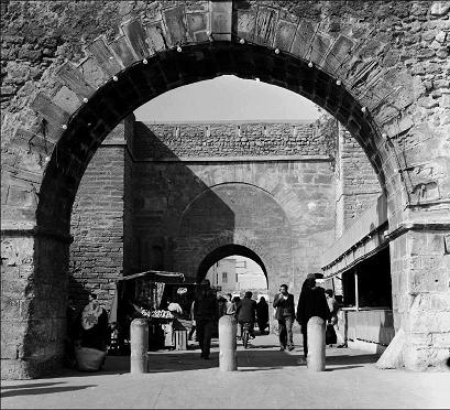 باب الخميس بمدينة سلا المغربية