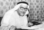 الشيخ عبدالله النوري - يرحمه الله - في مكتبه