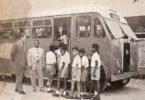 صورة باص مدرسة سنة 1955 البصرة – العراق