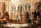 بلاط الملوك والسلاطين والحاشية والعزوة