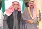 سمو الأمير الشيخ نواف الأحمد الصباح والفلكي د . صالح العجيري